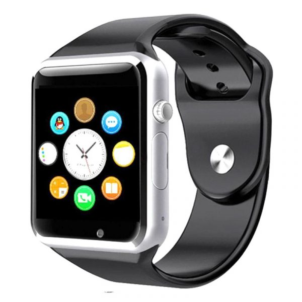 Smart Watch Silver W08 With Gsm Slot And Bluetooth Connectivity For iOS And Android Smart Phones