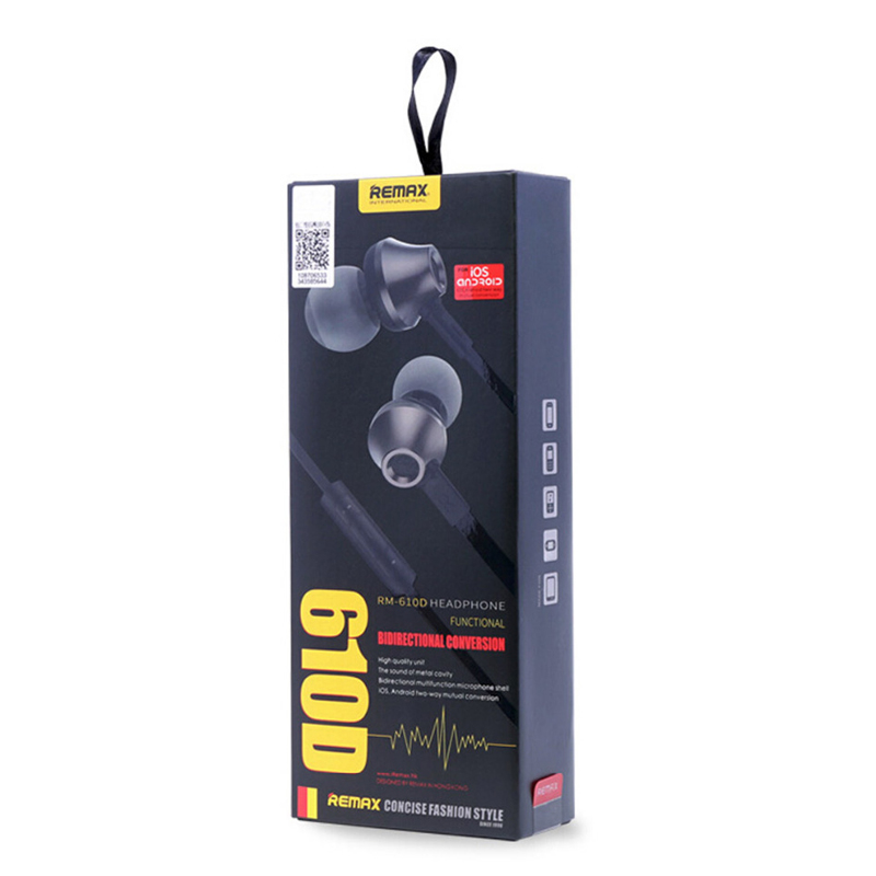 Remax Stereo Handsfree Rm 610d